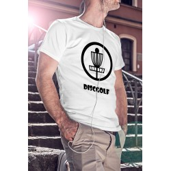 T-shirt Discgolf heren