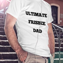 T-shirt Ultimate frisbee dad