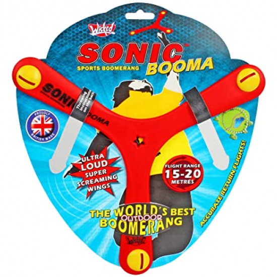Wicked Booma Sonic Boomerang Rood